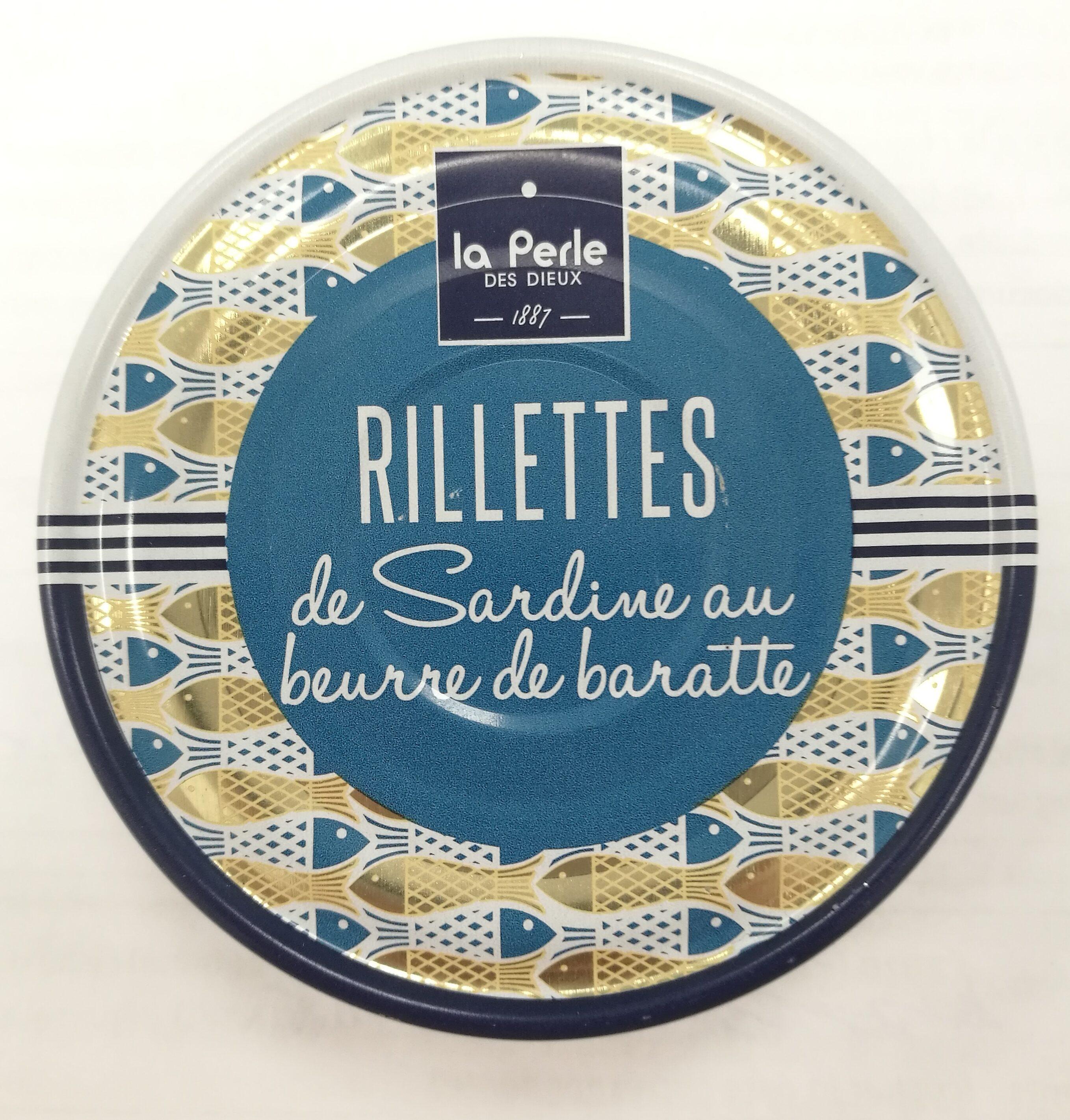 Rillettes de sardine au beurre de baratte - Produit - fr