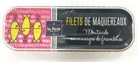 Filets de maquereaux à la moutarde et vinaigre de framboise - Produit - fr