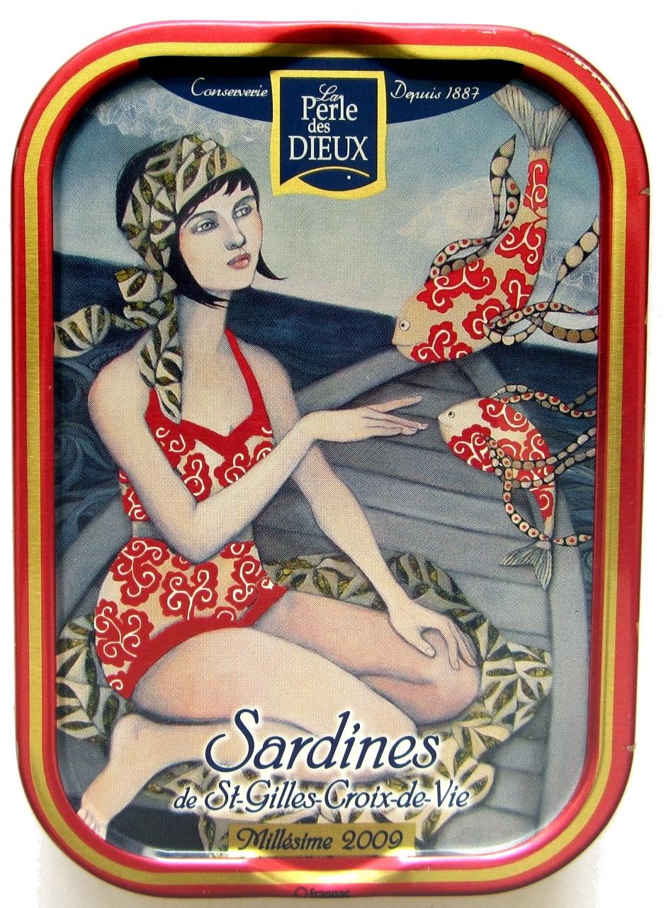 Sardines de St-Gilles-Croix-de-vie Millésime 2009 - Produit - fr