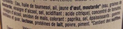L'incontournable Rouille - Ingrédients - fr