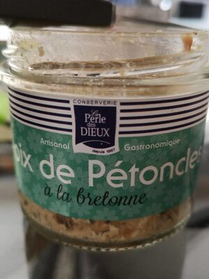 Noix de pétoncles à la bretonne - Produit - fr