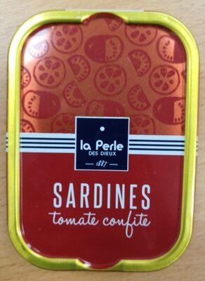 Sardines à la tomate confite - Produit - fr