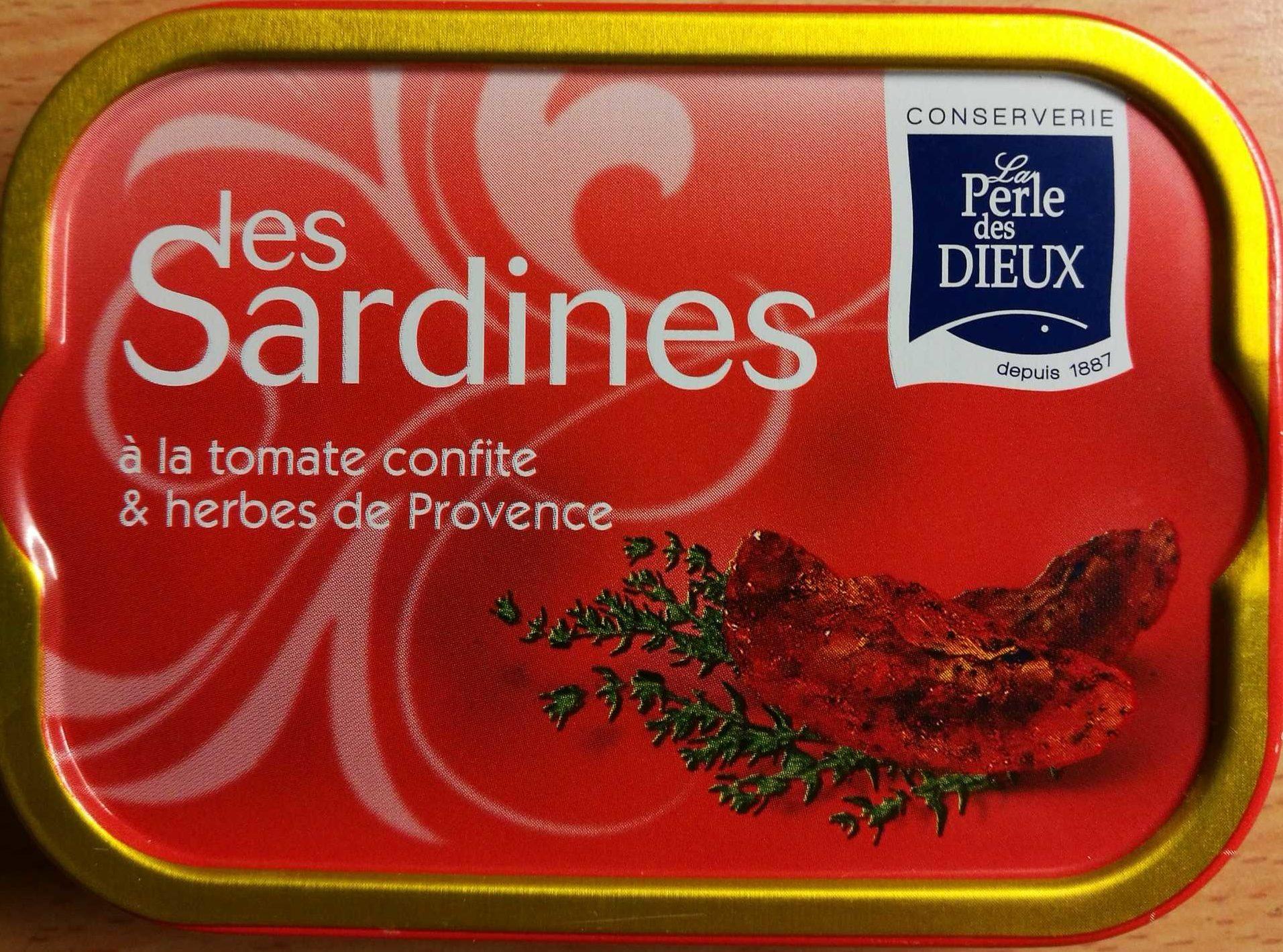 Sardines à la tomate confite et herbes de Provence - Produit - fr