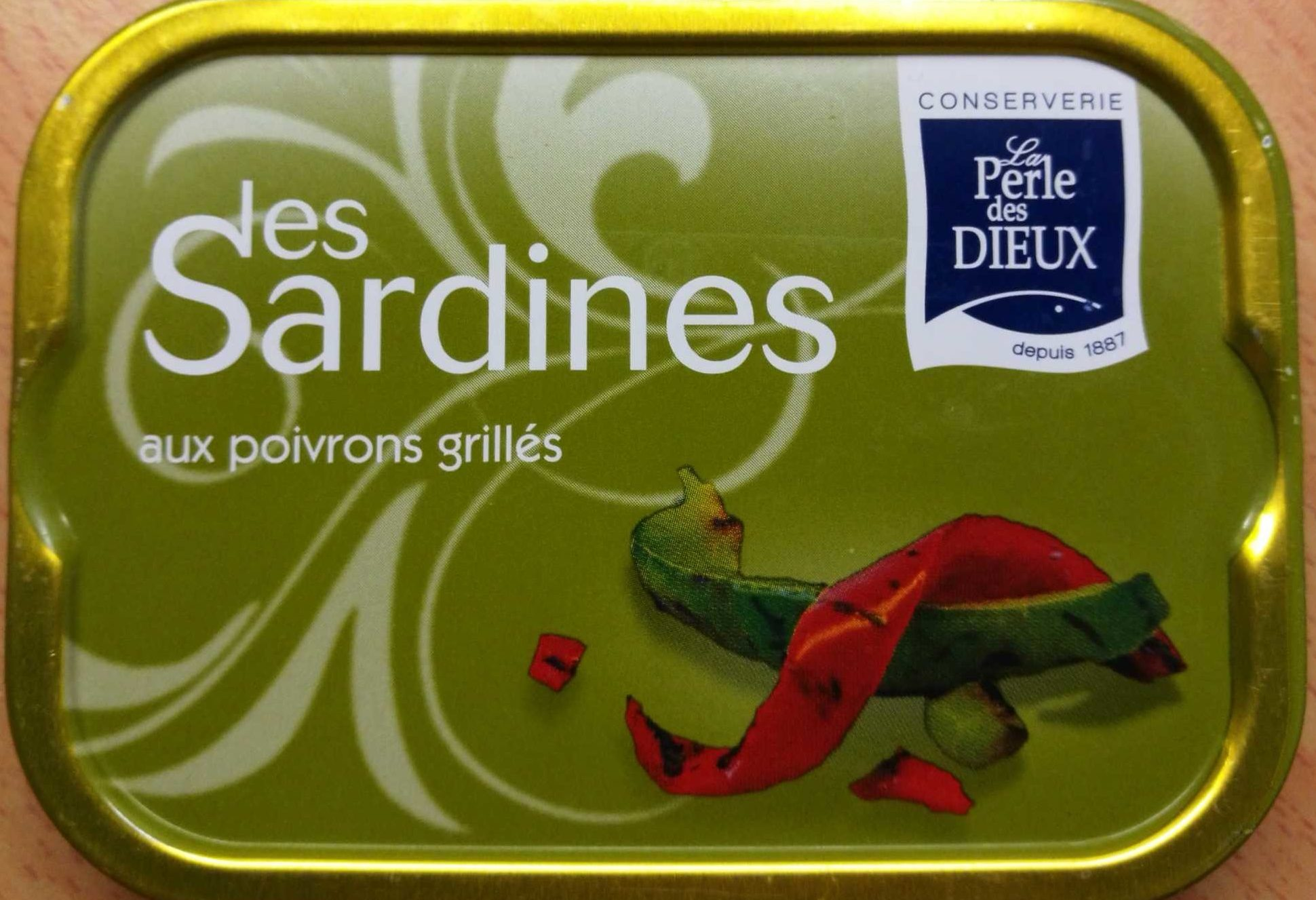 Sardines aux poivrons grillés - Produit