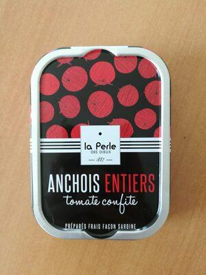 Anchois à la tomate confite - Produit - fr