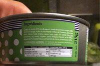 Tapas de petits bulots, piments doux et condiments d'Orient - Nutrition facts - fr