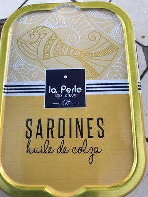 Sardines à l'huile de colza - Produit - fr