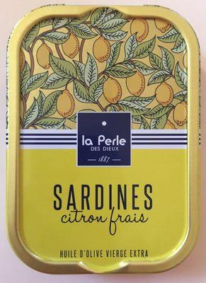 Sardines citron frais - Produit - fr