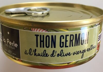 Thon Germon à l'huile d'olive vierge extra - Produit