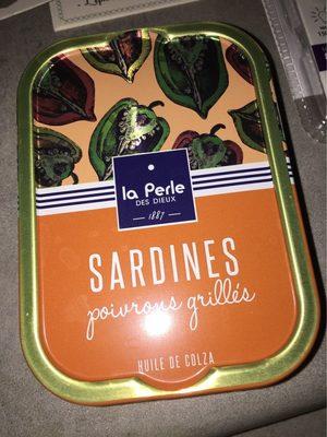 Sardines à l'huile de colza et poivrons grillés - Produit - fr