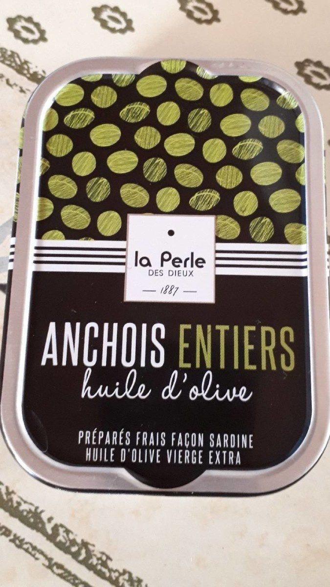 Anchois entiers à l'huile d'olive - Produit - fr