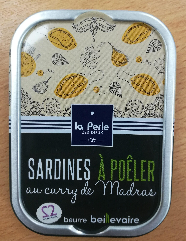 Sardines à poêler au curry de Madras - Produit - fr