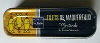 Filets de maquereaux à la moutarde à l'ancienne - Produit - fr