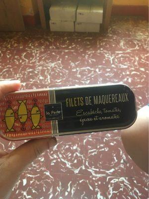 Filets de maquereaux escabèche, épices et aromates - Produit - fr