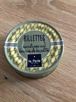 Rillettes de sardines au beurre de baratte - Produit - fr