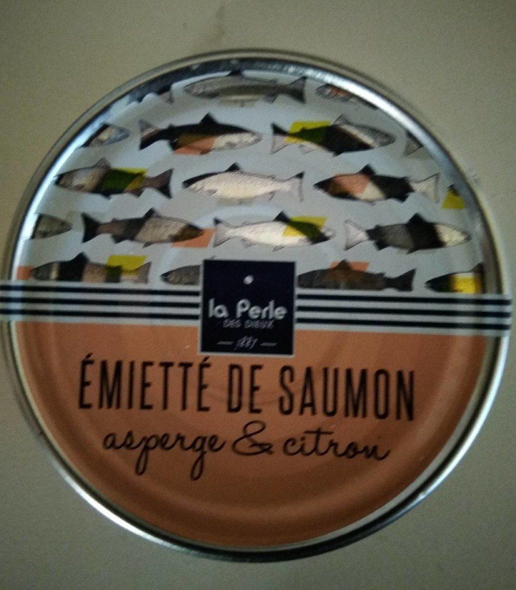 Émietté de saumon asperge et citron - Produit - fr