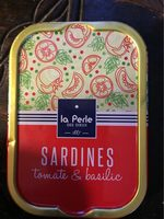 Sardines Tomate & Basilic - Produit - fr