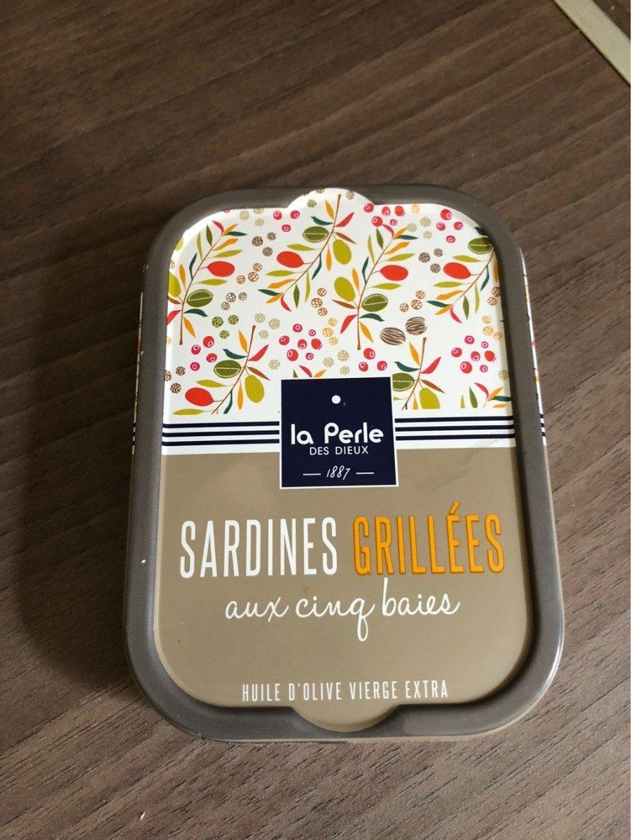 Sardines grillées aux cinq baies - Produit - fr