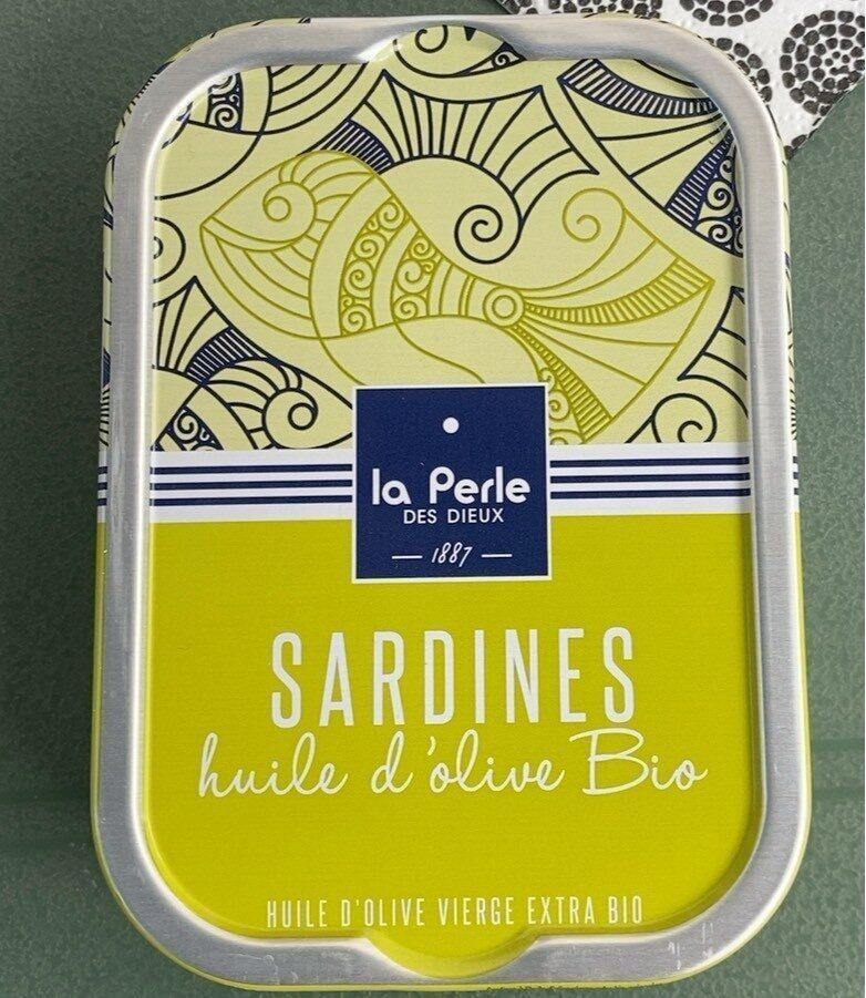 Sardines à l'huile d'olive bio - Produit - fr