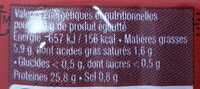 Sardines a l'huile d'olive vierge extra - Informations nutritionnelles - fr