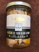 Ventrèche de thon blanc germon à l'huile d'olive 190g - Produit - fr