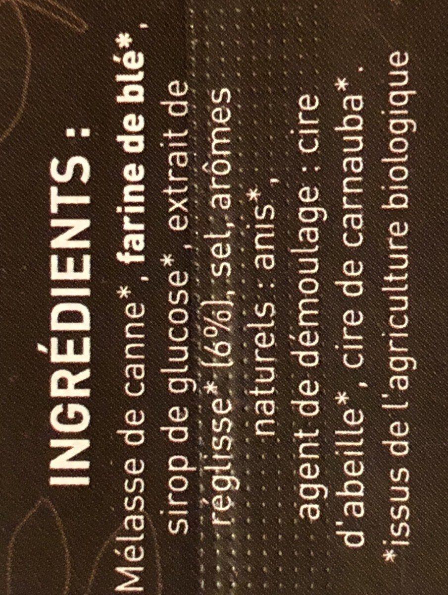 Les Ficé-glisse - Ingrédients