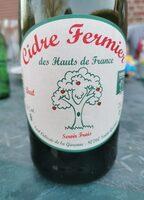Cidre Fermier des Hauts de France - Product - fr
