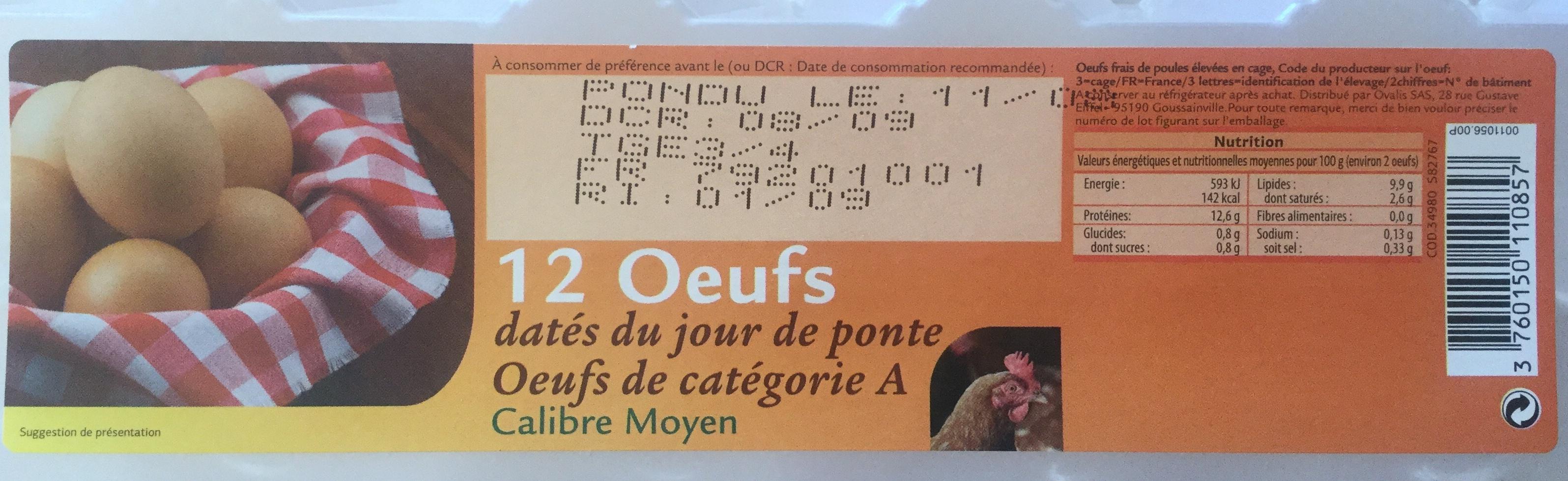 Oeufs - Produit - fr