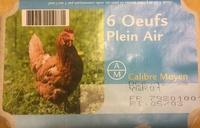 Oeufs plein air - Produit - fr