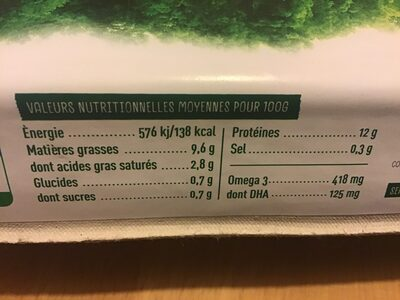 Oeuf frais plein air - Nutrition facts - en