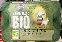 Gros oeufs bio - Product - fr