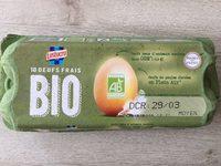 Œufs bio gros - Product - fr