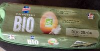 12 Oeufs frais bio - Product - fr