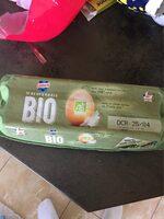 Oeufs frais bio Lustucru - Product