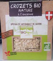 Crozets bio nature à l'ancienne - Product - fr