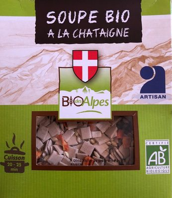 Soupe bio à la châtaigne - Product