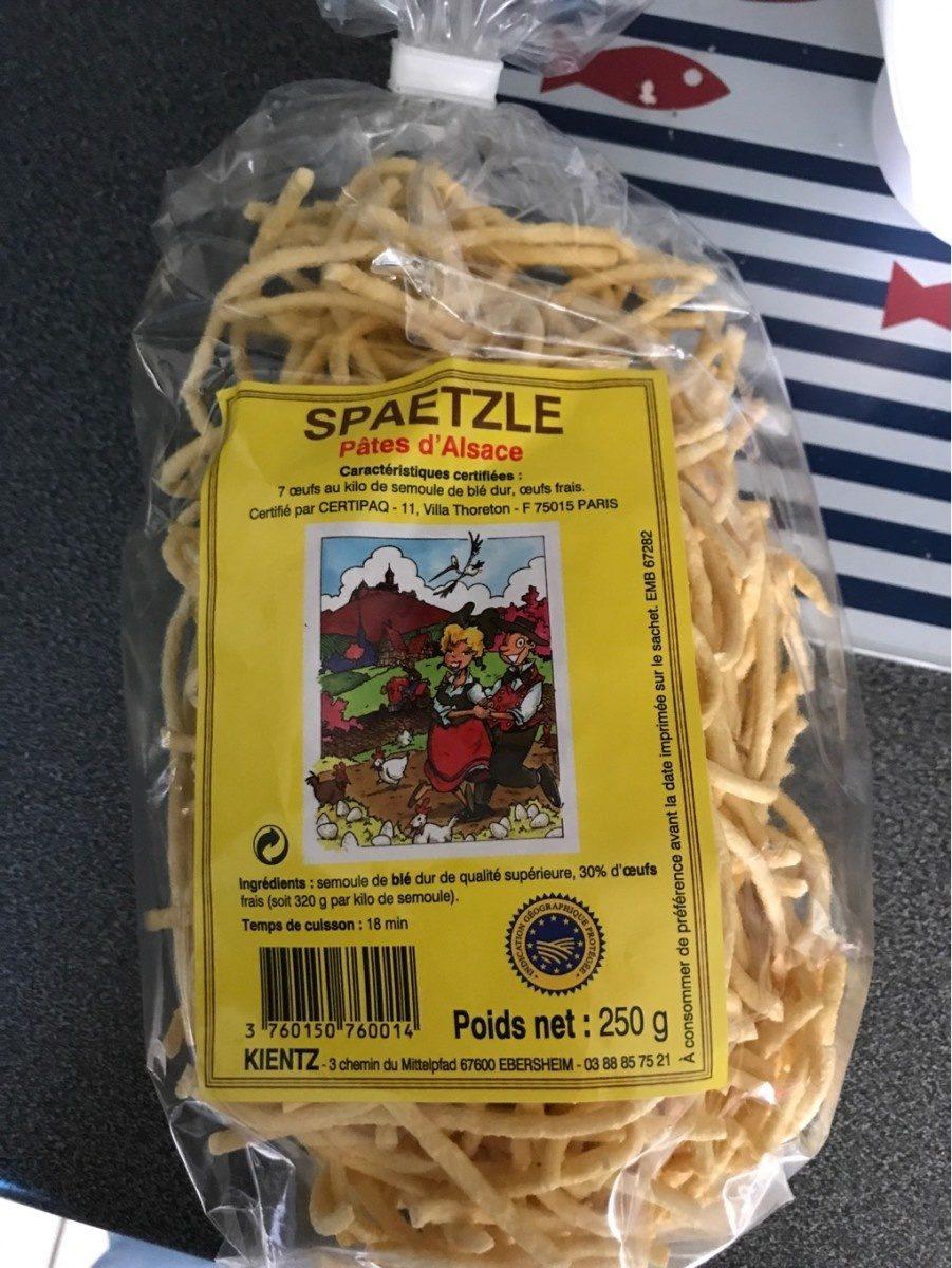 SPAETZLE - Product