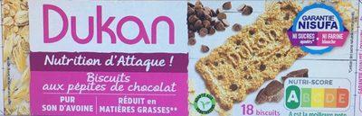 Biscuits aux pépites de chocolat - Product