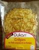 crêpes au tofu soyeux et konjac Dukan - Produit
