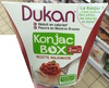 Konjac Box recette Bolognaise - Produit