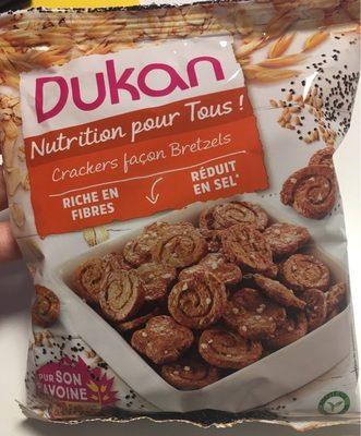 Crackers façon bretzels - Produit