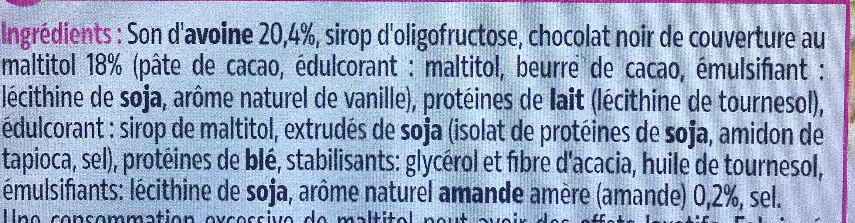 Barres extra-gourmandes - Ingredients - fr