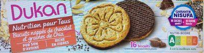 Biscuits chocolat et graines de Chia - Product