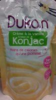 Crème à la vanille à base de konjac - Product