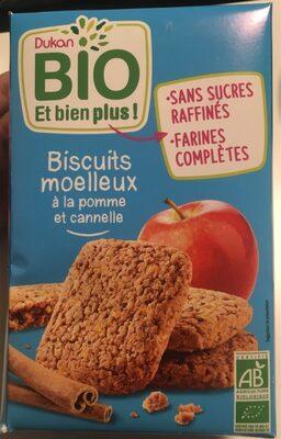 Biscuits moelleux pomme cannelle bio - Produit - fr