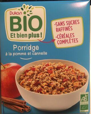 Porridge pomme cannelle bio - Produit - fr