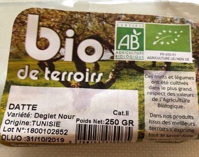 Datte Deglet Nour Tunisie - Product - fr
