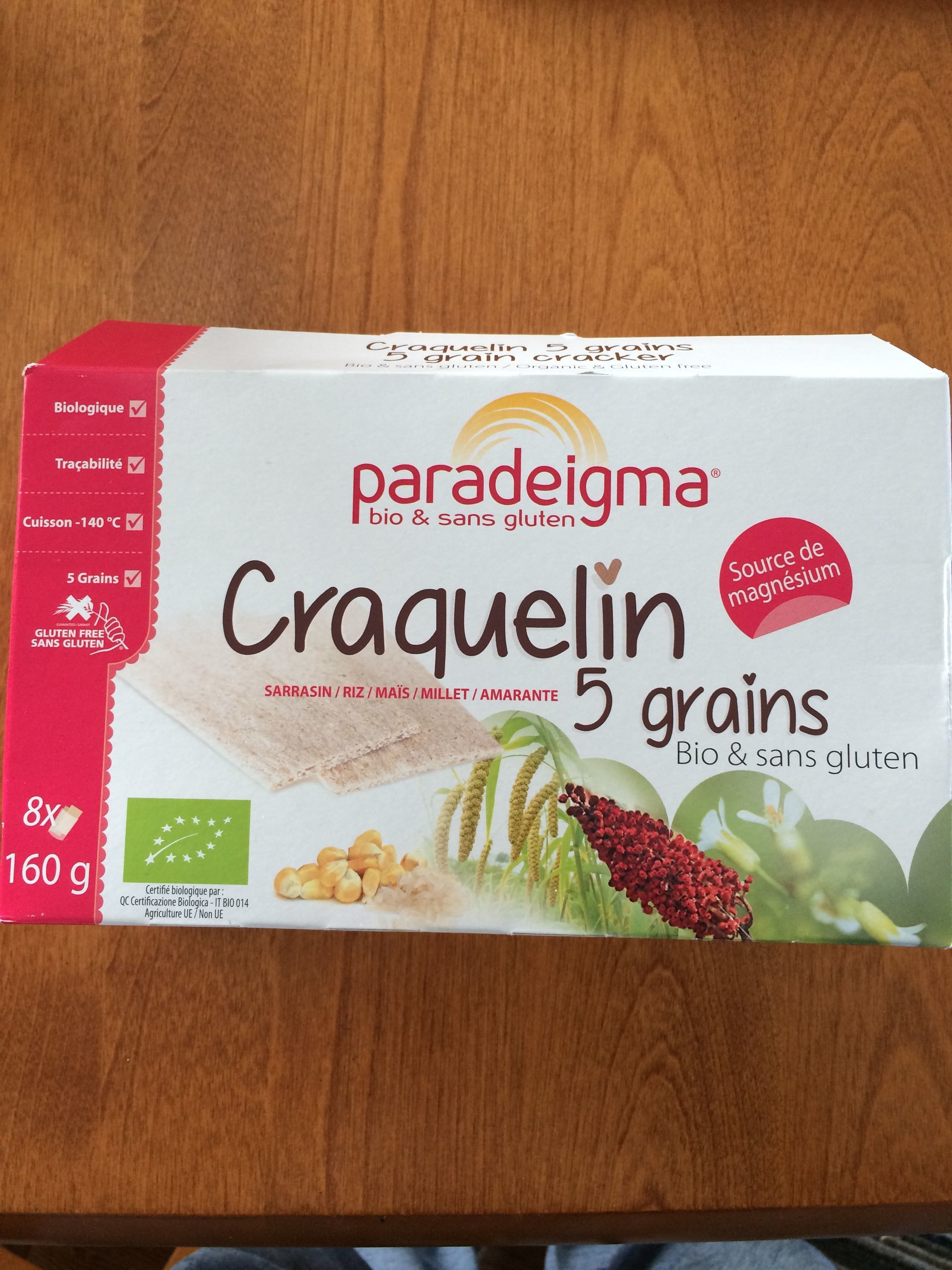 Craquelin 5Grains - Product - fr