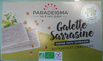 Galette Sarrasine - Produit - fr