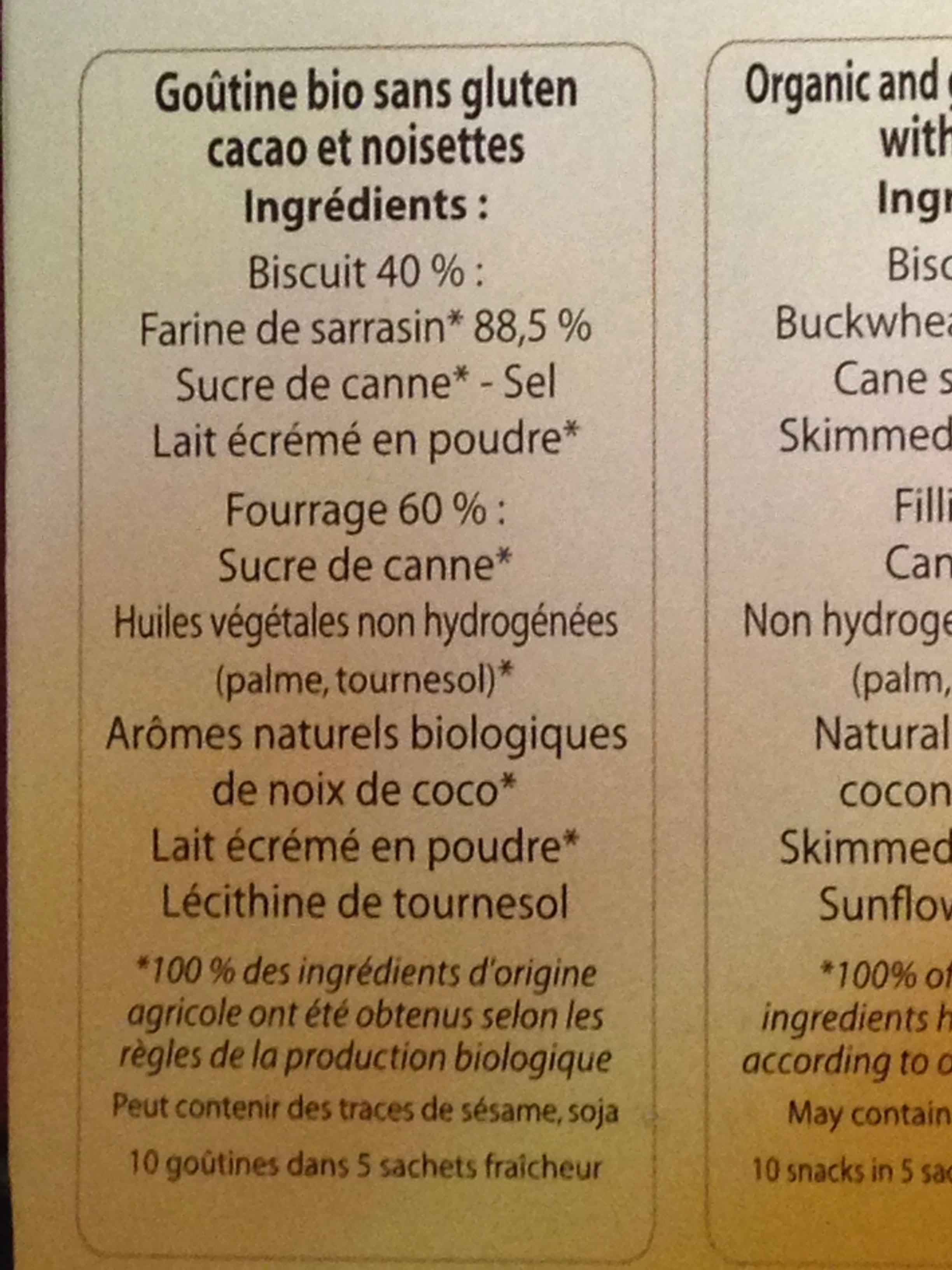 Goutine Noix de coco - Ingredients - fr